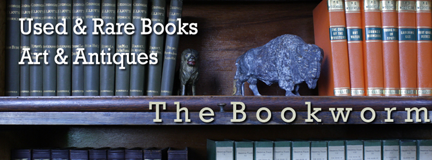 For antiques and books, come to the Bookworm!